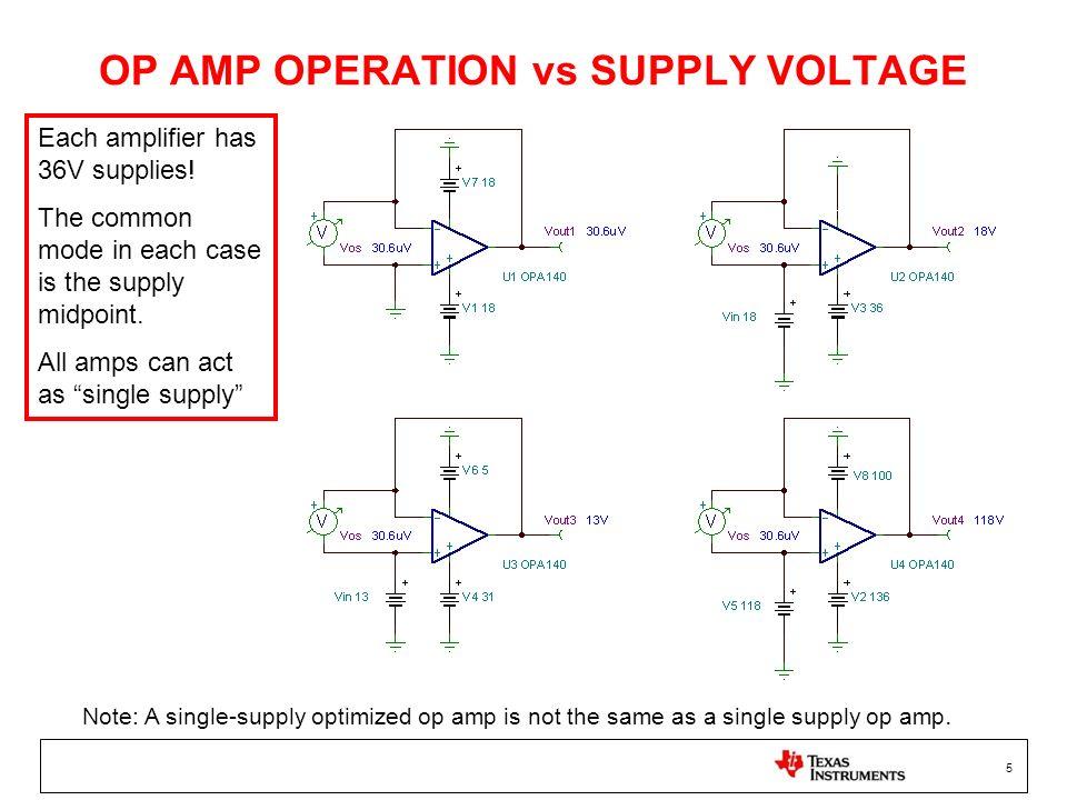 6 MOSFET Simple Input (Vcm to negative rail)