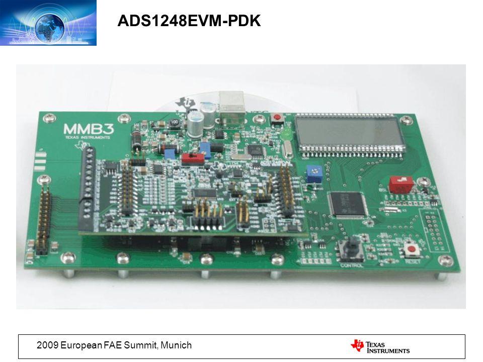 2009 European FAE Summit, Munich ADS1248EVM-PDK