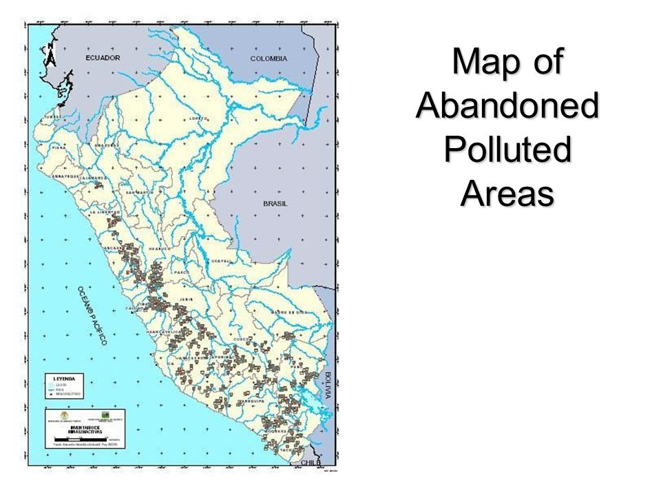 Map of Abandoned Polluted Areas
