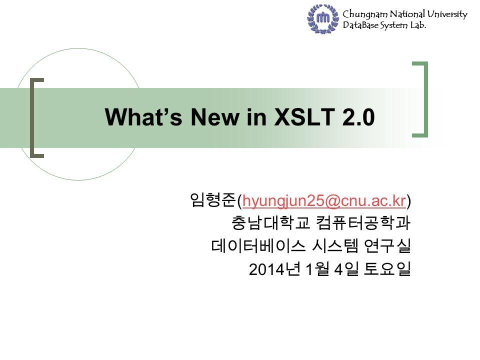 Chungnam National University DataBase System Lab. (hyungjun25@cnu.ac.kr)hyungjun25@cnu.ac.kr 2014 1 4 2014 1 4 2014 1 4 2014 1 4 2014 1 4 2014 1 4 201