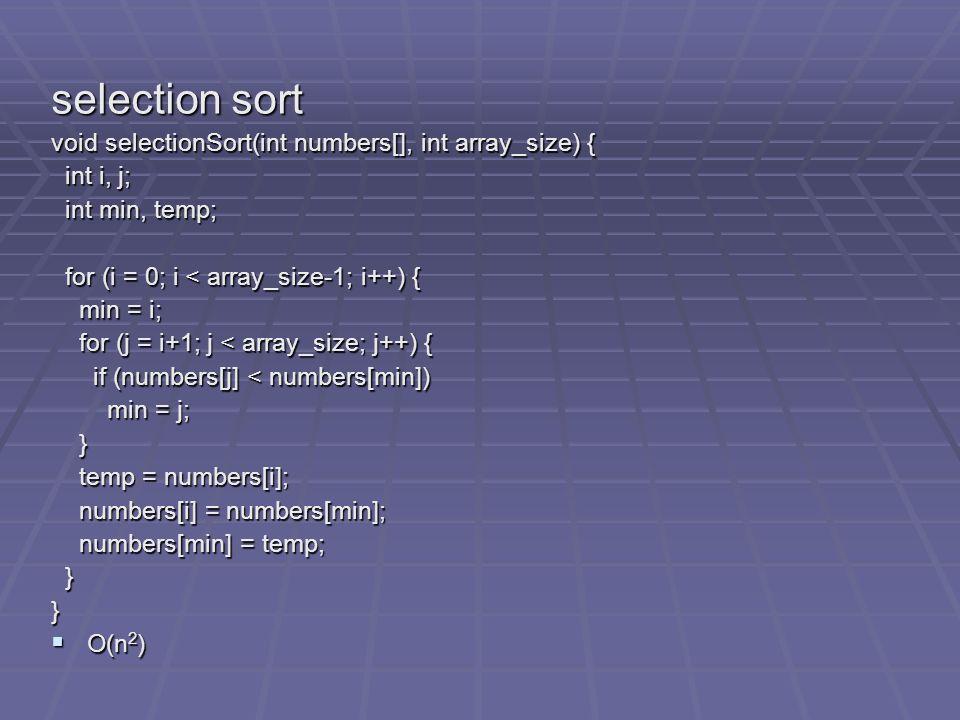 LSD Radix Sort LSD Radix Sort Time complexity: O(MAX_DIGIT(RADIX_SIZE+n)) MAX_DIGIT passes O(RADIX_SIZE) O(n) RADIX_SIZE = 10 MAX_DIGIT = 3 f[9] f[8] f[7] f[6] f[5] f[4] f[3] f[2] f[1] f[0] 271 NULL 93 33 NULL 984 NULL 55 306 NULL 208 NULL 179 859 9 NULL r[9] r[8] r[7] r[6] r[5] r[4] r[3] r[2] r[1] r[0] Initial input: 17920830693859 98455927133 Chain after first pass, i=2: 271933398455 3062081798599
