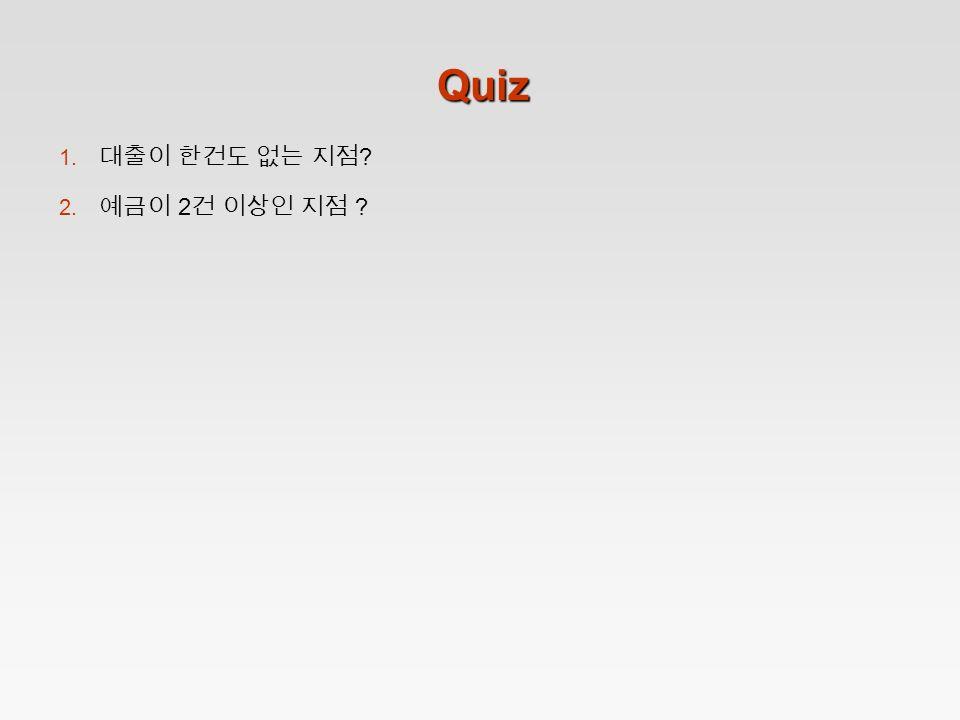 Quiz 1. ? 2. 2 ?