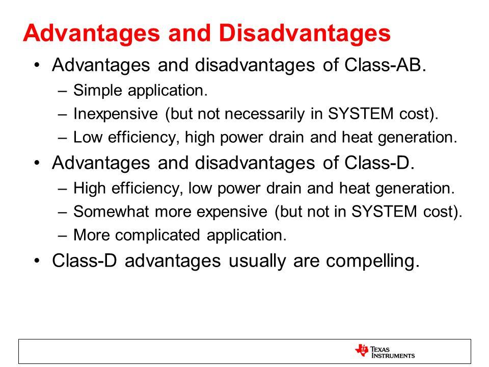 BD Modulation Characteristics BD modulation requires a differential output.