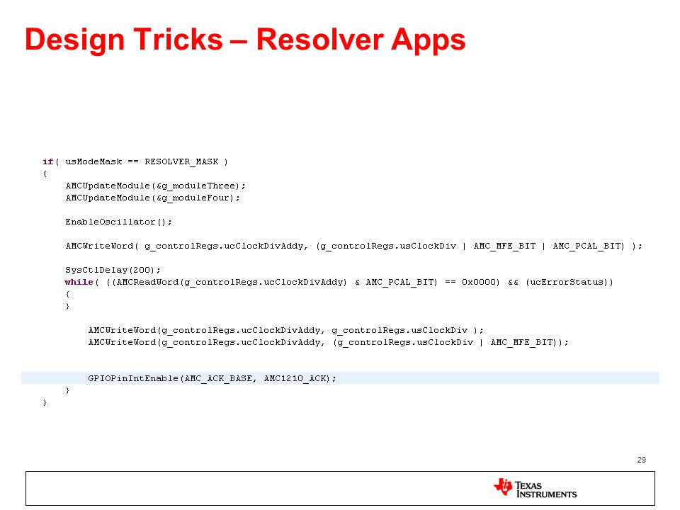 29 Design Tricks – Resolver Apps