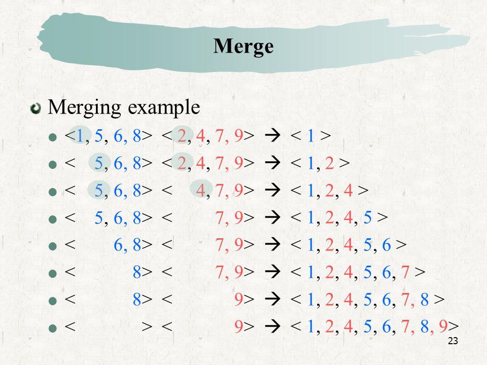 23 Merge Merging example
