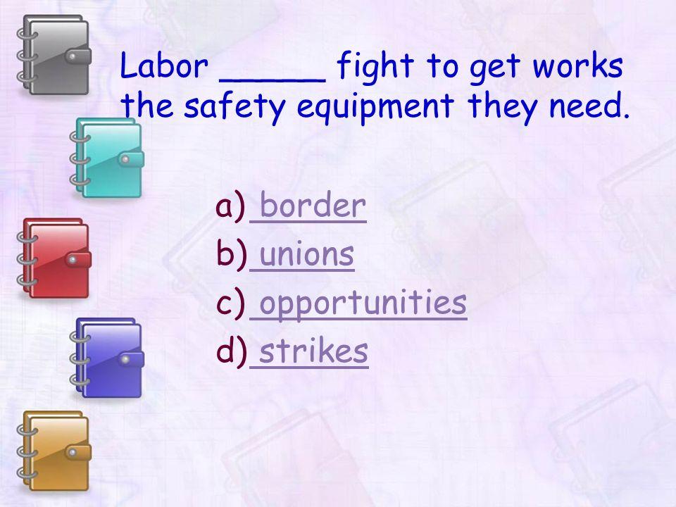 strikes – plural noun – the stopping work to protest something.
