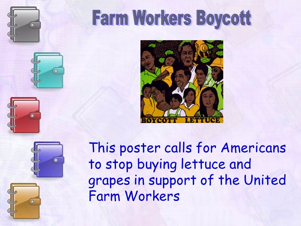 Cesar Chavez was a Mexican American labor activist and leader of the United Farm Workers. During the 20th century he was a leading voice for migrant f