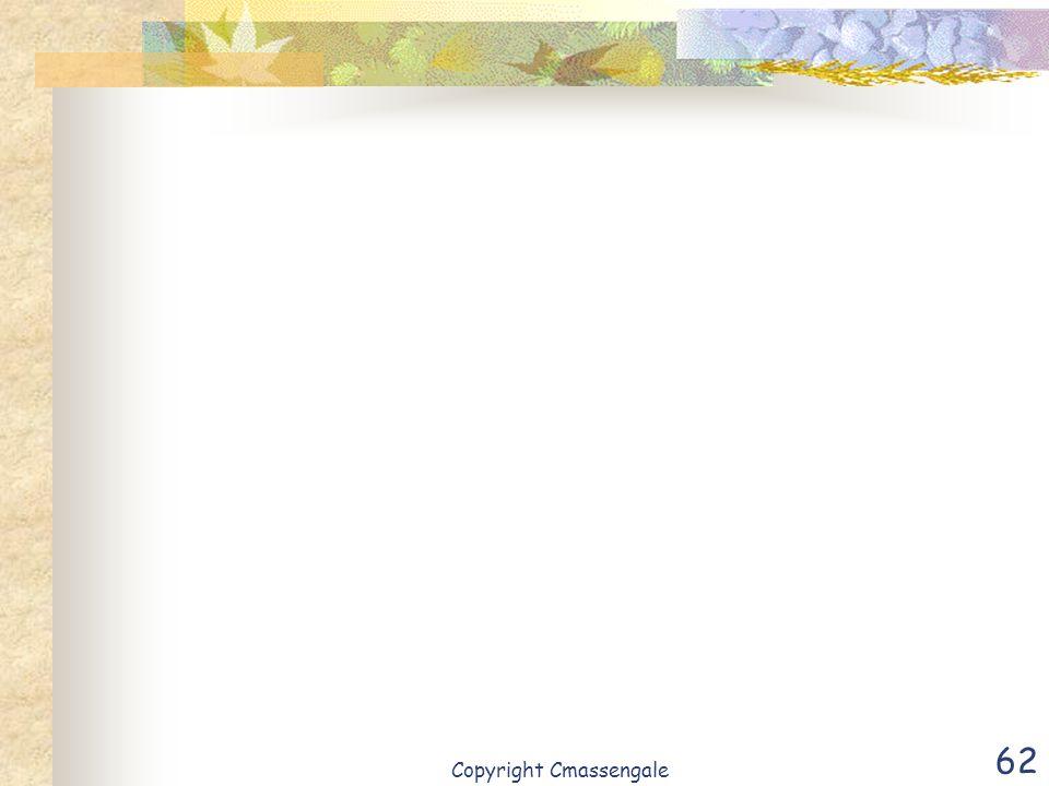 62 Copyright Cmassengale