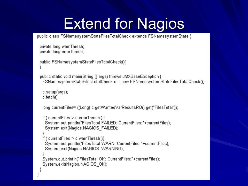 Extend for Nagios