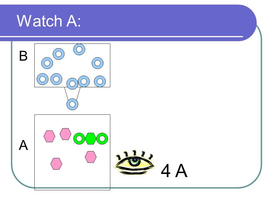 Watch A: B A 4 A