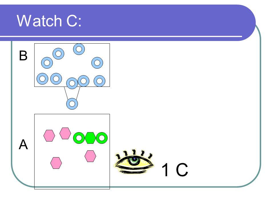 Watch C: B A 1 C
