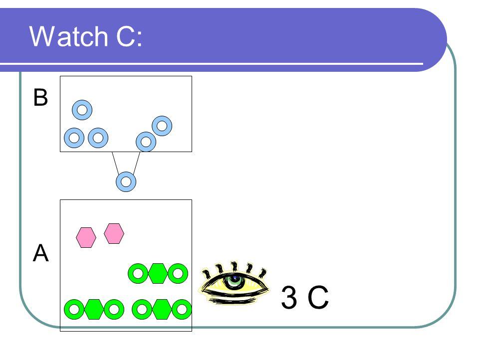 Watch C: B A 3 C
