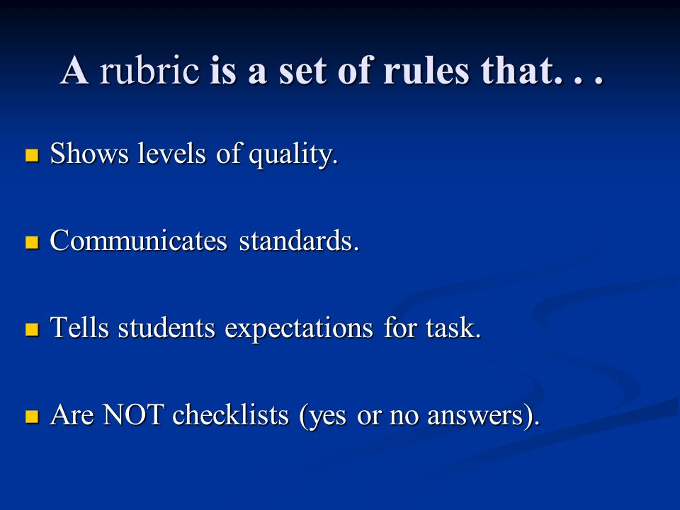 Parts of a Rubric Dimensions, referred to as criteria, encompass the knowledge, skills, and understanding to be assessed.