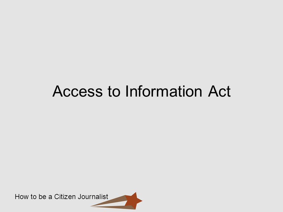Access to Information Act