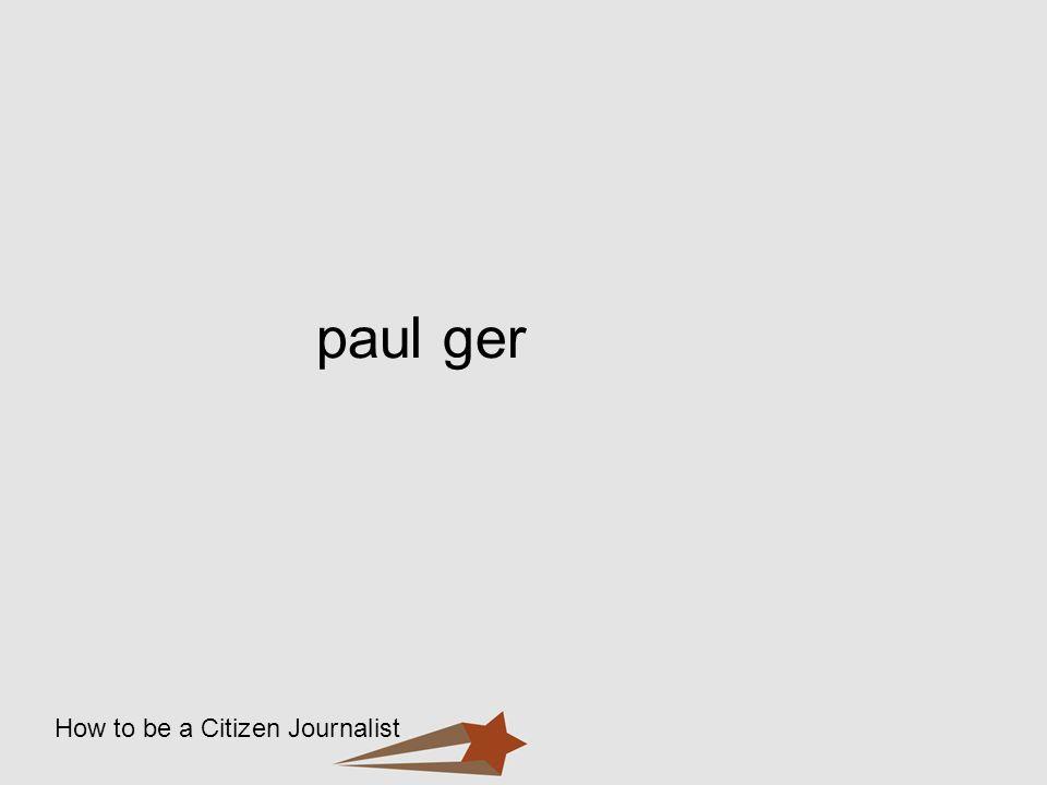 paul ger