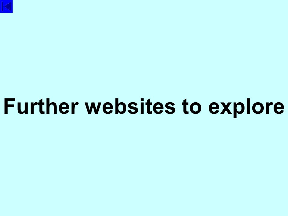 Further websites to explore
