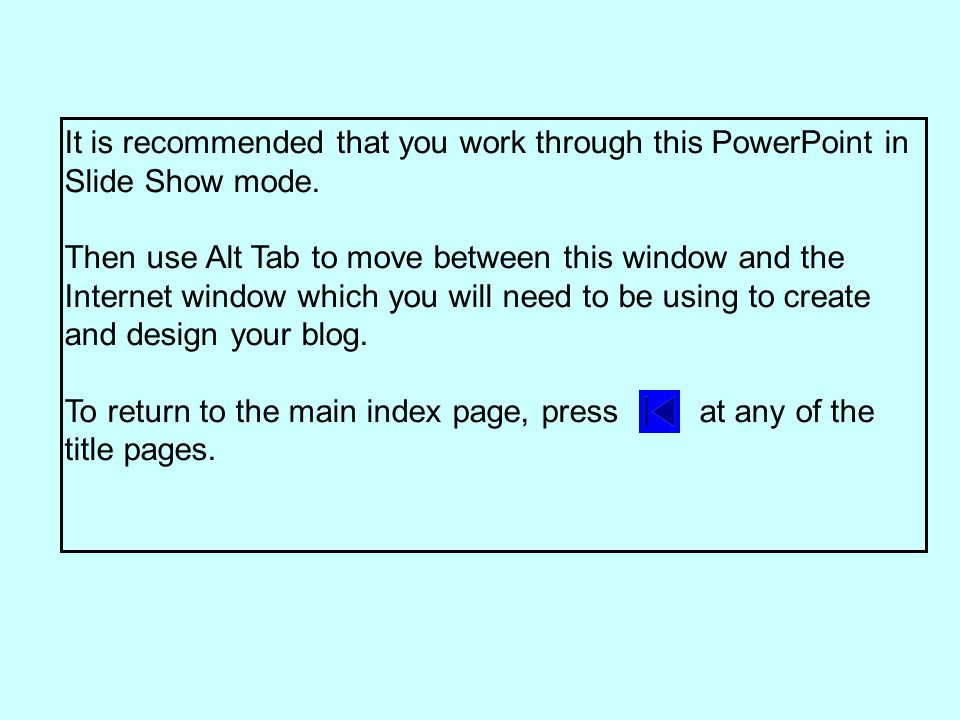 1.From wherever you are in Typepad, click on Dashboard to return to the screen below.
