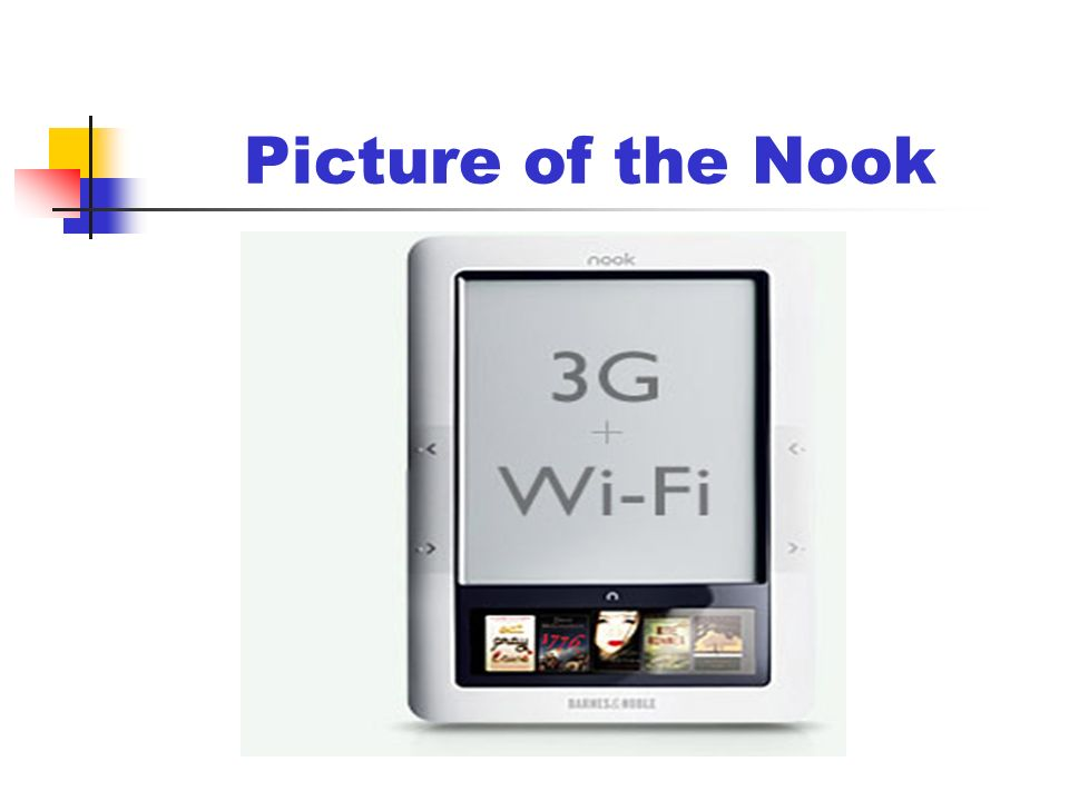 Picture of the Nook