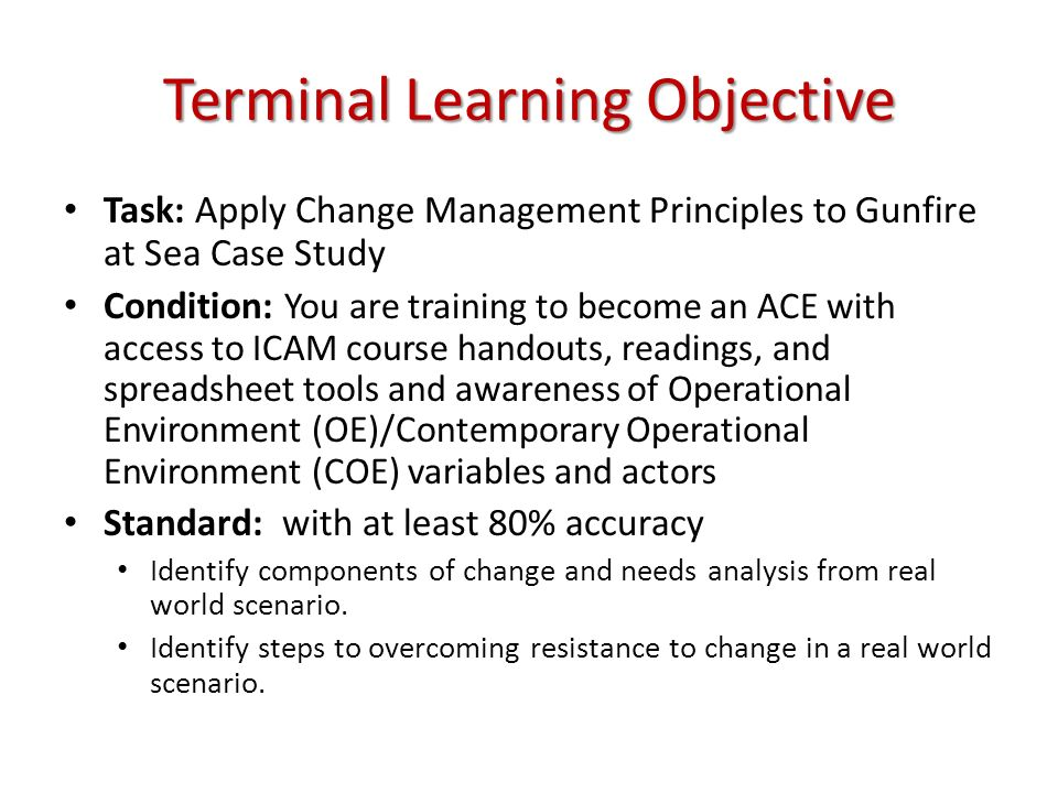 Gunfire at Sea: A Case Study of Innovation Simss Final Action Q: Was his action correct.