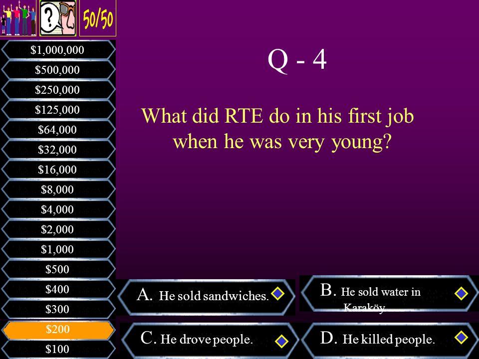 Who invented the electric bulb? A. Erol Tash B. Ediz Hun C. George Washington D. Pele $100 $300 $400 $500 $1,000 $2,000 $4,000 $8,000 $16,000 $32,000