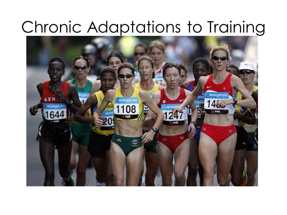 Chronic adaptations to Aerobic training CARDIOVASCULAR ADAPTATIONS LOWER BLOOD PRESSURE Both systolic and diastolic blood pressure levels may decrease during REST and EXERCISE.