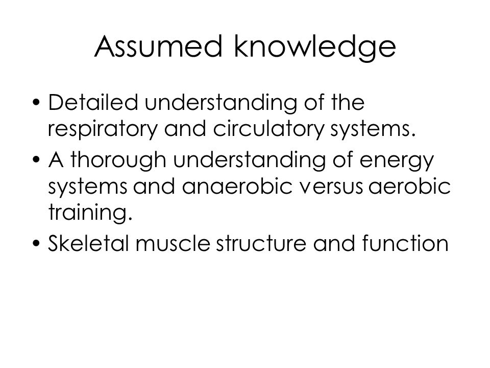Chronic versus acute Chronic changes are actually adaptations that occur as a result of long term training.