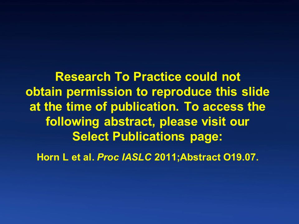 Research To Practice could not obtain permission to reproduce this slide at the time of publication.