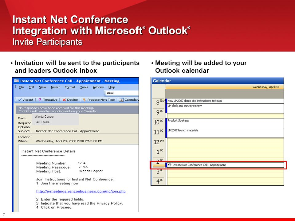 18 Live Meeting Presentation Controls Sharing Indicator Presentation Title Sharing Options End sharing and Return to Live Meeting Give Control Pause