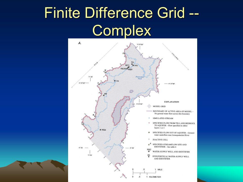 Finite Difference Grid -- Complex