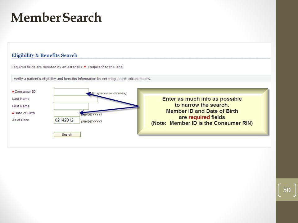Member Search 50