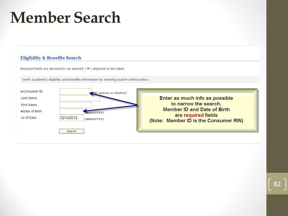 Member Search 82