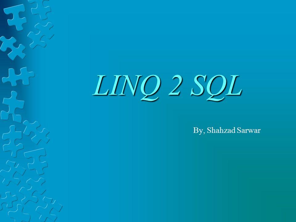 Conceptual View ( PLINQ)