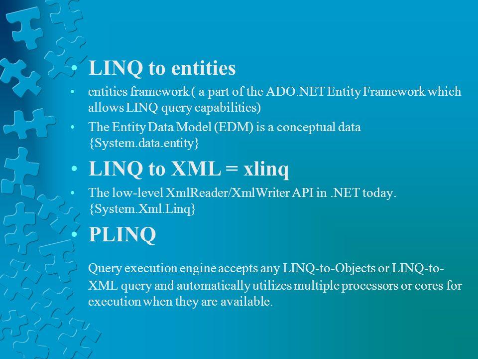 Conceptual View (LINQ)