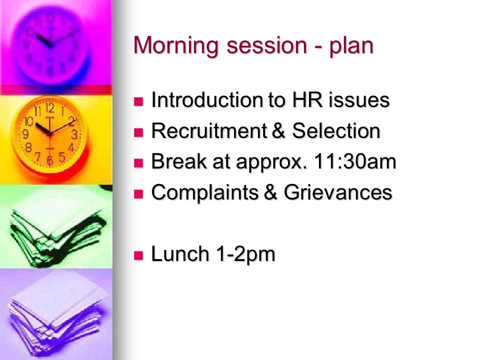 Afternoon session - plan Line Management in brief Line Management in brief Disciplinary & Performance Incapability Management Disciplinary & Performance Incapability Management Managing Sickness Absence Managing Sickness Absence Confidentiality & Data Protection Confidentiality & Data Protection Finish approx 4:30pm Finish approx 4:30pm
