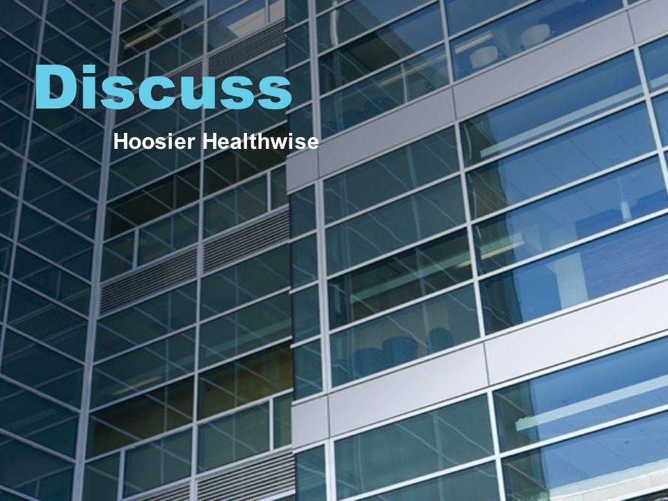 Discuss Hoosier Healthwise