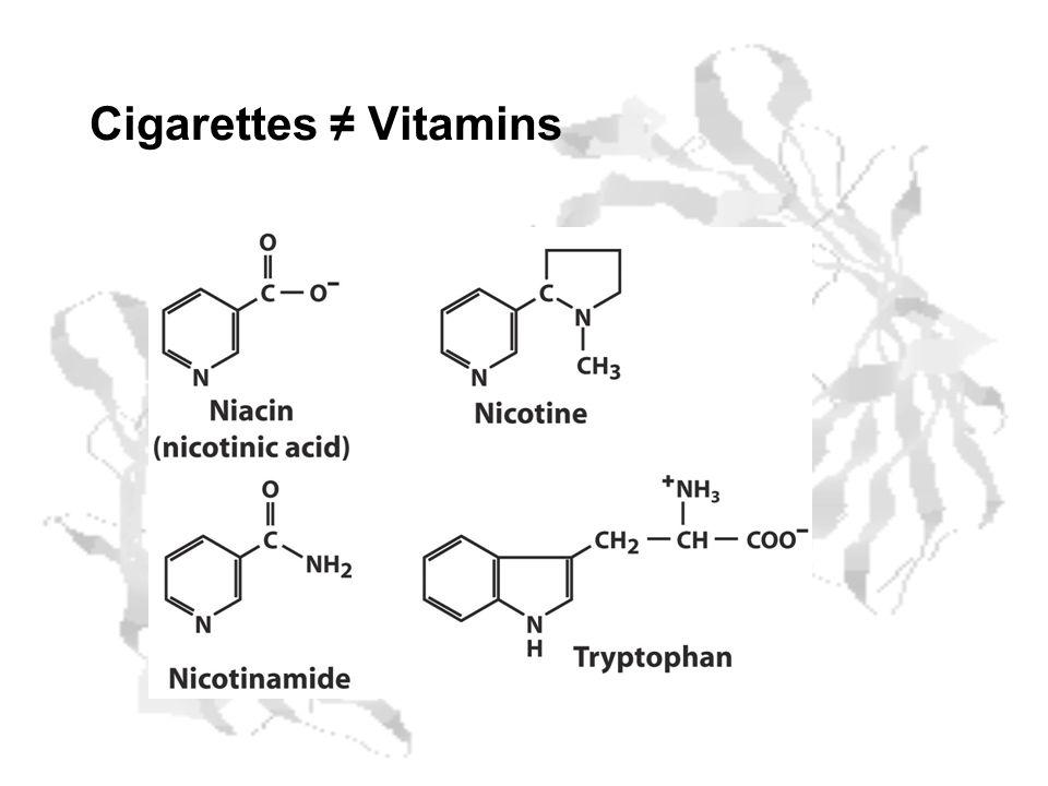 Cigarettes Vitamins