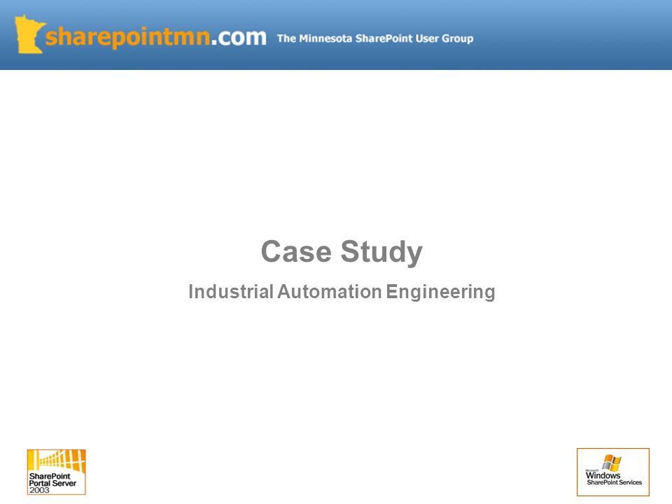 Case Study Industrial Automation Engineering