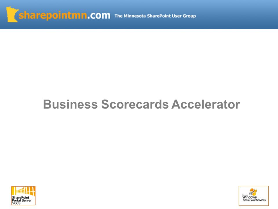 Business Scorecards Accelerator