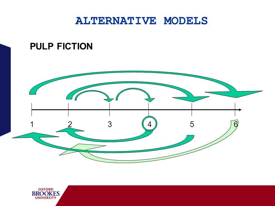 ALTERNATIVE MODELS PULP FICTION 1 2 3 4 5 6