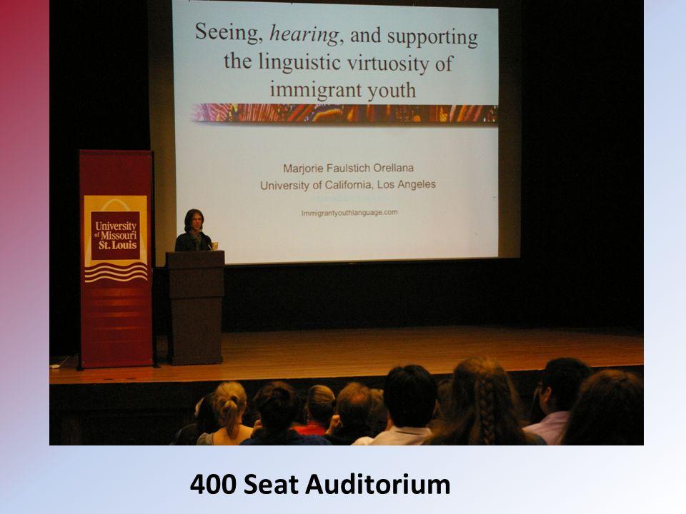 400 Seat Auditorium