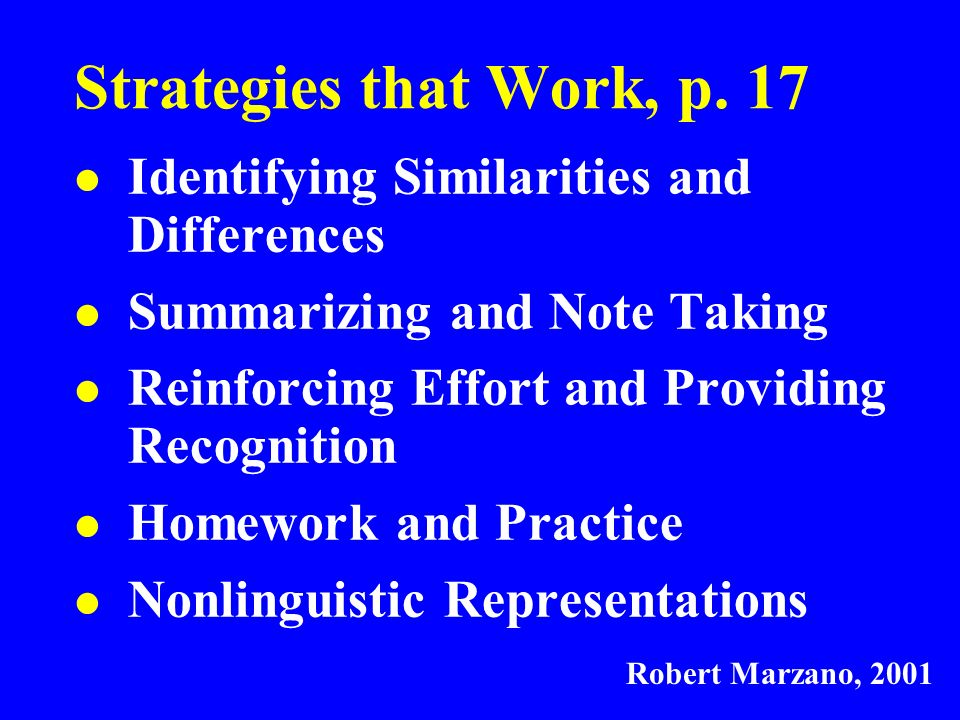 Strategies that Work, p.