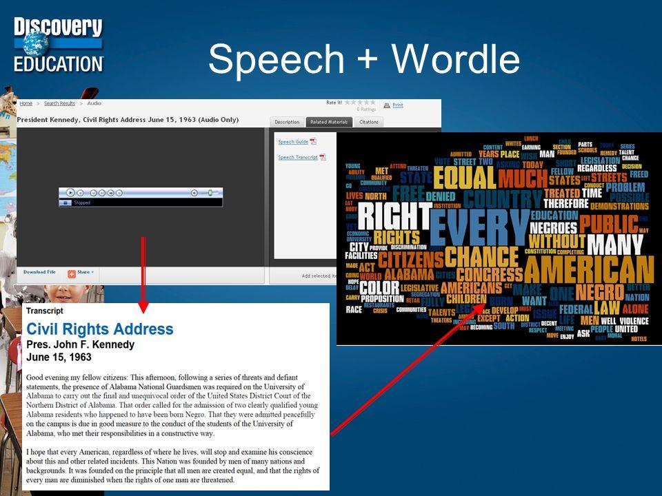 Speech + Wordle