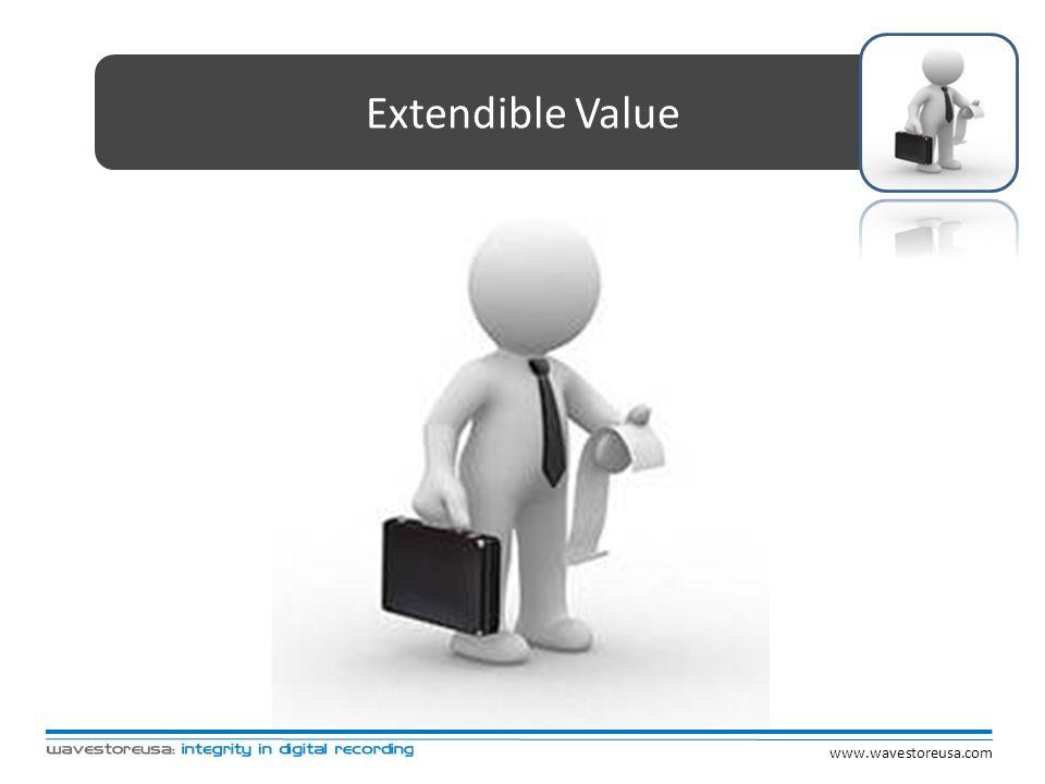 Extendible Value www.wavestoreusa.com