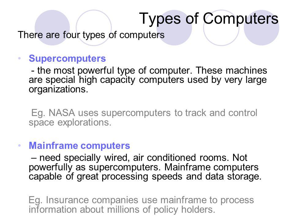 Minicomputers – are refrigerator-sized machines.