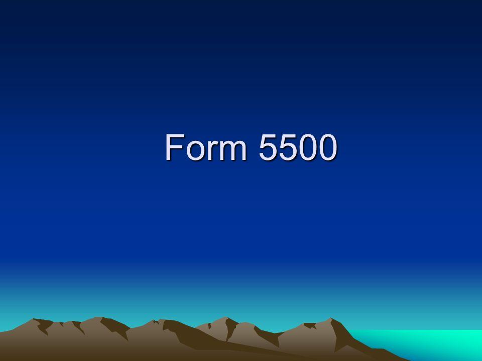 Form 5500