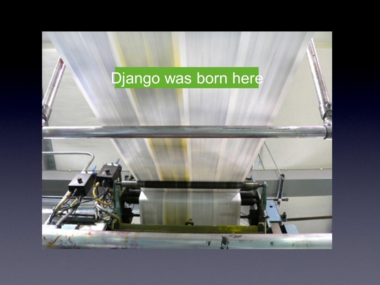Django was born here
