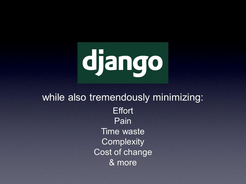 How can Django do it.