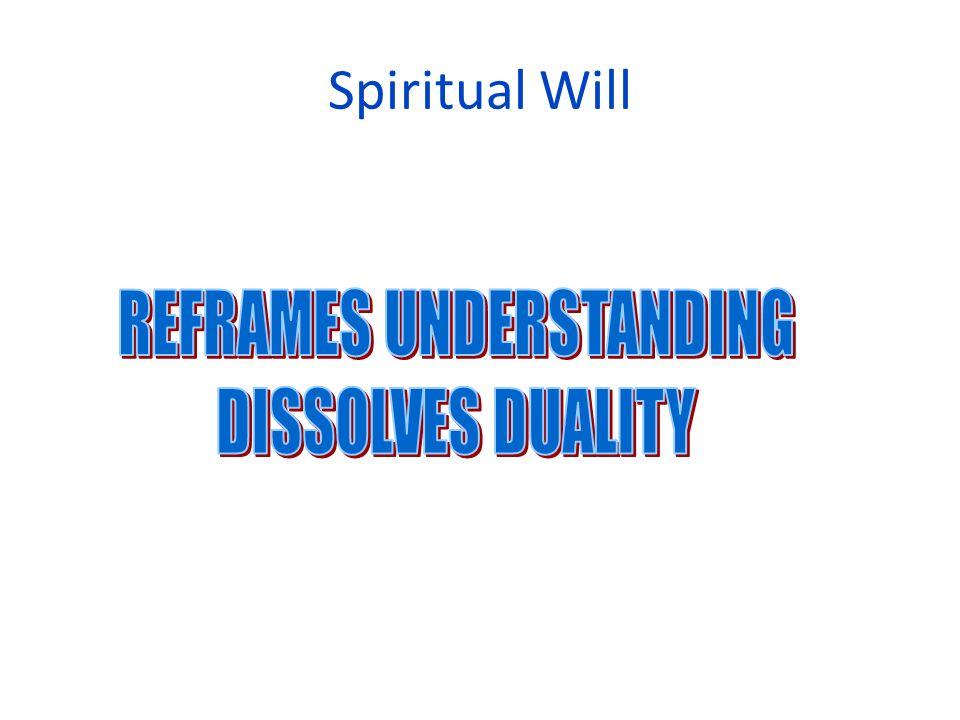 Spiritual Will