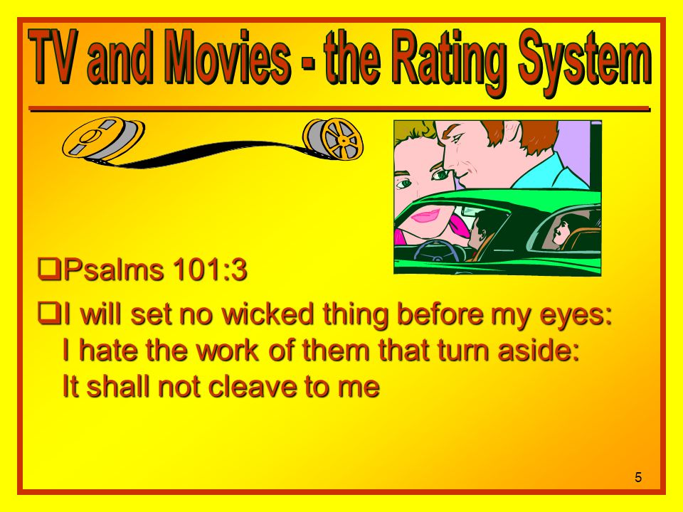 Psalms 101:3 Psalms 101:3 I will set no wicked thing before my eyes: I hate the work of them that turn aside: It shall not cleave to me I will set no wicked thing before my eyes: I hate the work of them that turn aside: It shall not cleave to me 5