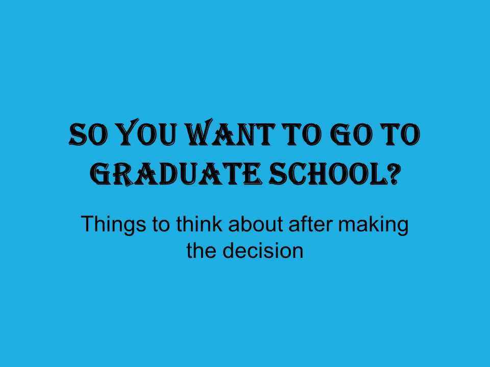 Dealing with Anxiety Applying to graduate school can be stressful Being a graduate student is even more taxing So what Should you do?